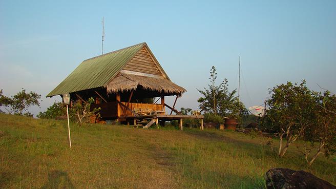 Field station in Gabon