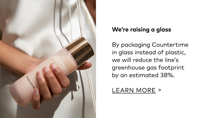I love that Beautycounter moved to glass bottles for Countertime.