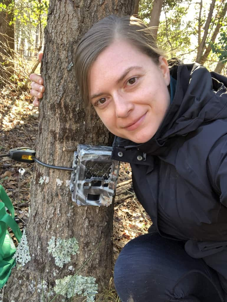 I'm a wildlife biologist who has done camera trap research. Here are my tips for aspiring scientists from what I've learned in my career.