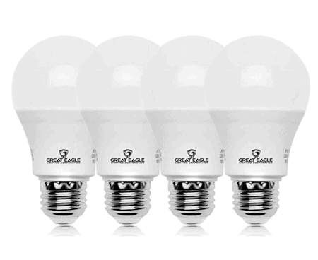 LED lightbulbs make a huge difference in reducing climate emissions.