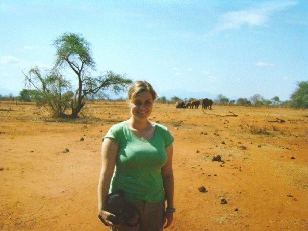 animal selfie with elephants