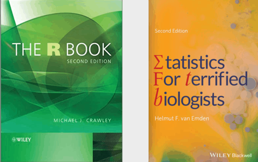 To succeed in wildlife, you need to know statistics well. These are my favorite books for people who don't love statistics.