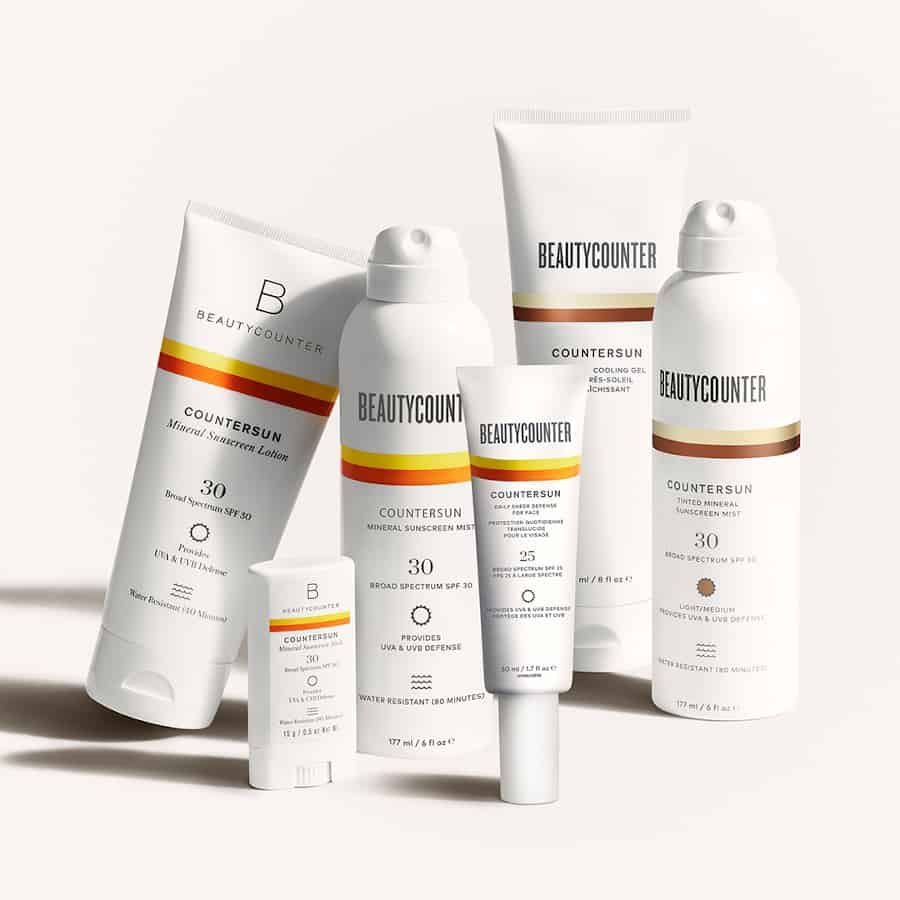 Beautycounter offers a range of mineral sunscreens that are reef-friendly.