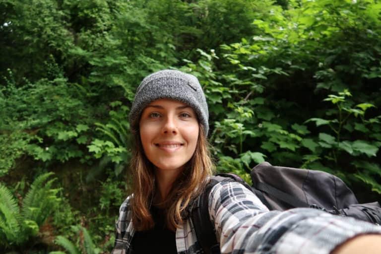 Wildlife biologist Kristina Lynn