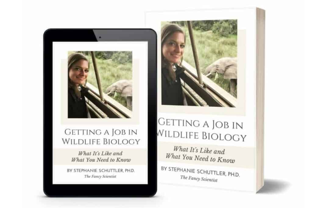 Getting a Job in Wildlife Biology is out now! Learn how to become competitive for the wildlife biology job you want.