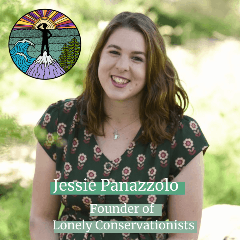 Jessie Panazzolo, Founder of Lonely Conservationists