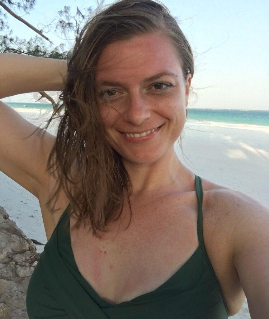 Stephanie Schuttler in Diani